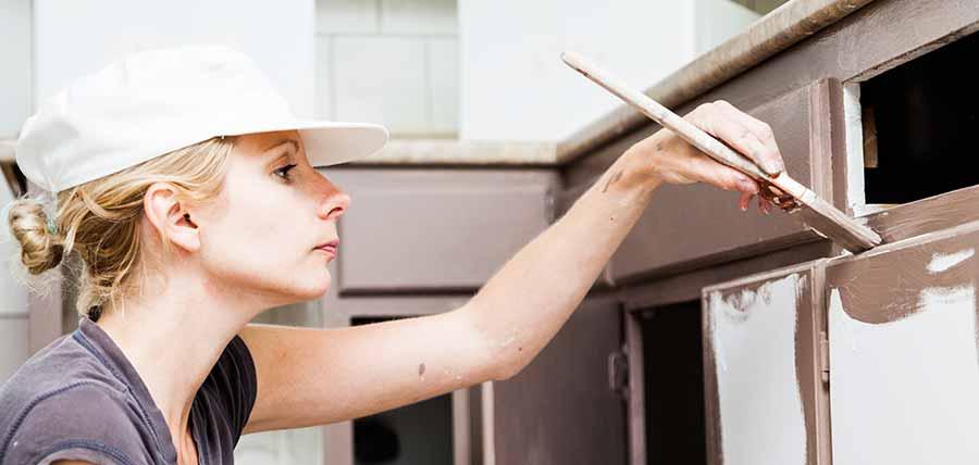 Keukenkastjes Verven Fineer.ᐅ Keuken Verven Nieuwe Look Door Uw Keuken Te Schilderen