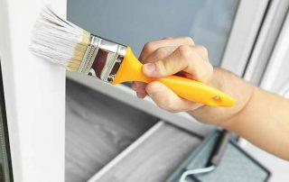 pvc ramen schilderen